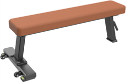 E-1036В Скамья прямая горизонтальная (Flat Bench) - фото 4677