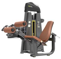 E-1086 Разгибание/Сгибание ног сидя Leg Extension&Leg Curl .Стек 110  кг. - фото 4685