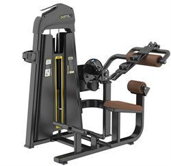 E-1088 Пресс машина/Разгибание спины Abdominal Isolator & Back Extension.Стек 110  кг. - фото 4688