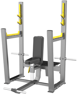 A3051 Скамья для вертикального жима штанги (Olympic Seated Bench) - фото 4765