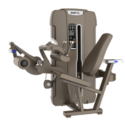 E-4023 Сгибание ног сидя (Seated Leg Cur). Стек 135 кг. - фото 4833