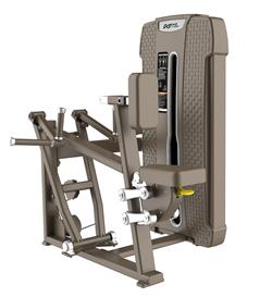 E-4034 Гребная тяга с упором на грудь (Vertical Row). Стек 105 кг. - фото 4844