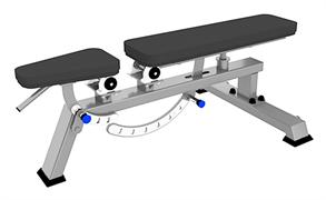 A3039 Скамья универсальная, мобильная (Super Bench)