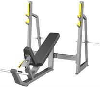 A3042 Скамья-стойка для жима под углом вверх (Olympic Bench Incline)