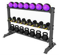 А0150 Стойка для хранения оборудования (гири-гантели-мячи)
