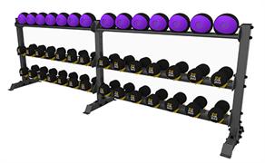 А0156 Стойка для хранения оборудования (гантели-мячи)